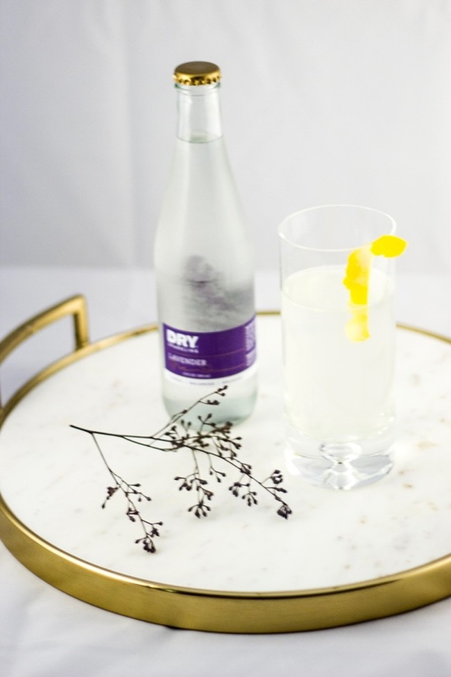 Lavender Gin Fizz with a twist!