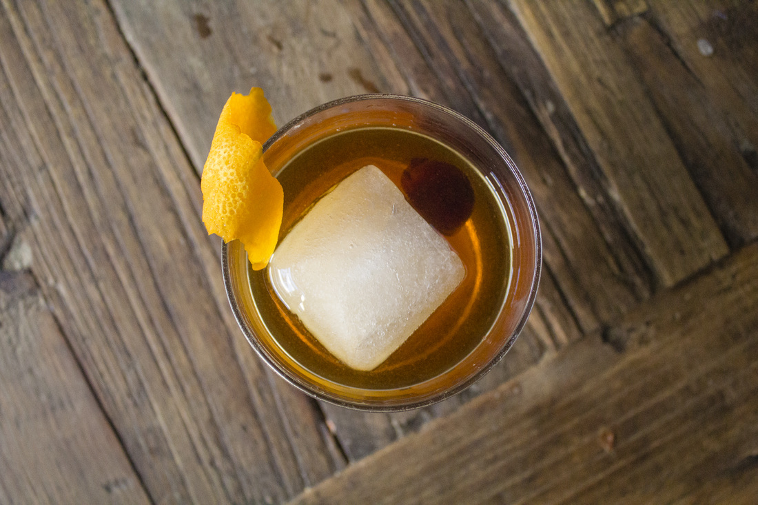 every Old Fashioned needs a giant fancy ice cube