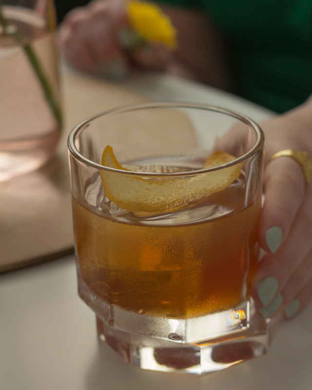 cocktails and clothes: elder fashioned