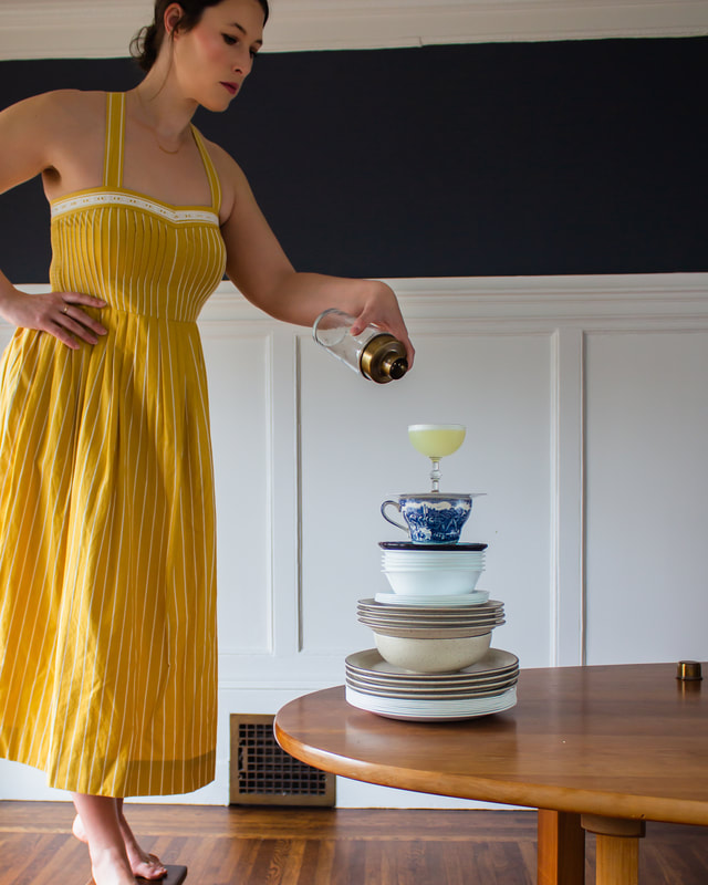 Cocktails & Clothes: Mellow Yellow